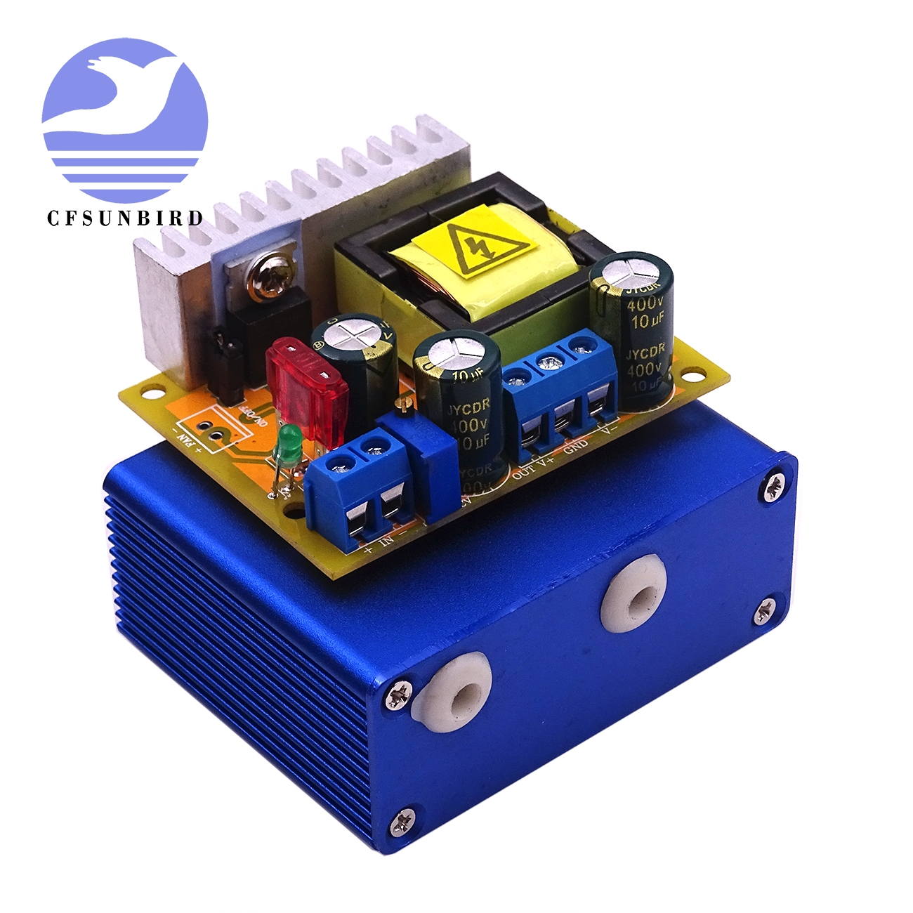 Dc Boost Converter 8 32v To 45 390v High Voltage Zvs Capacitor Charging Circuit