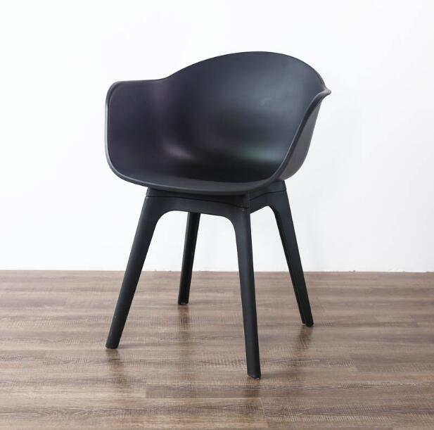 YINGYI New Design Modern Wood Dining Chair With Arms Good