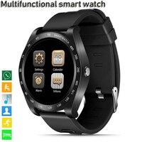2019 New Z1 Bluetooth smart watch touch screen watch with camera SIM card TF card slot waterproof smart watch DZ09 V9 Y1 GT08