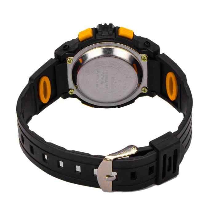 לשני המינים גברים נשים סטודנטים עגול פנים עיצוב ספורט גומי דיגיטלי מגע led שעונים אופנה ילדים ילדים חיצוני יד שעונים