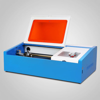 Korea PROMOTION Updated HIGH PRECISE and HIGH SPEED Third Generation CO2 Laser Engraving Cutting Machine USB PORT