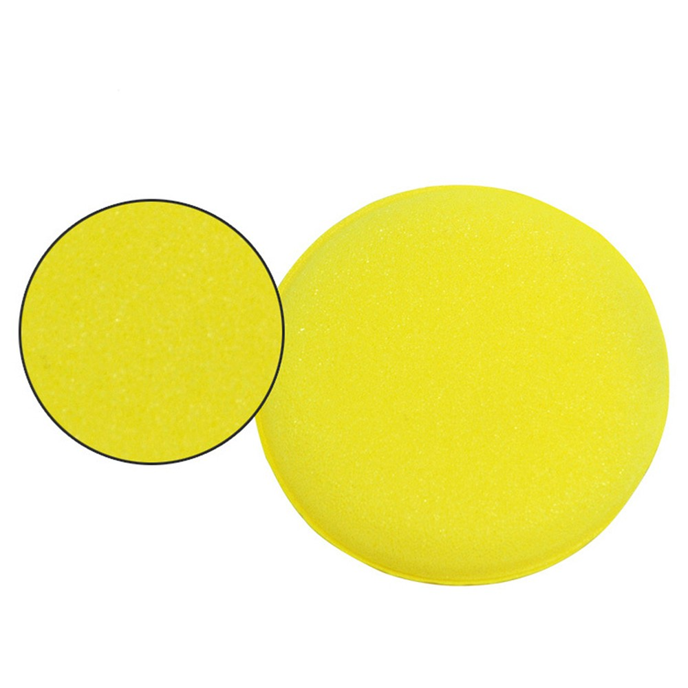 Applicator-Pads Sponges Clean-Care-Tools Car-Cleaner Polish Windshield 12PCS Round