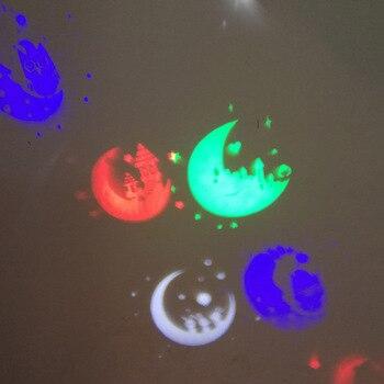 Lampe de Projection chandelle LED sans flamme à piles avec télécommande de Projection de lune de bonbon CLH @ 8
