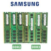 סמסונג מחשב זיכרון RAM Memoria מודול שולחני DDR2 DDR3 1GB 2GB 4GB PC2 PC3 667mhz 800mhz 1333mhz 1600mhz 8gb 1333 1600 800 ram