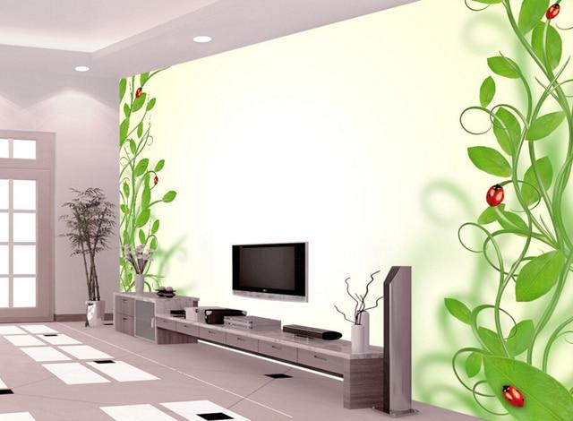 Salotto Moderno Verde : Personalizzato bambini carta da parati verde carta da parati d