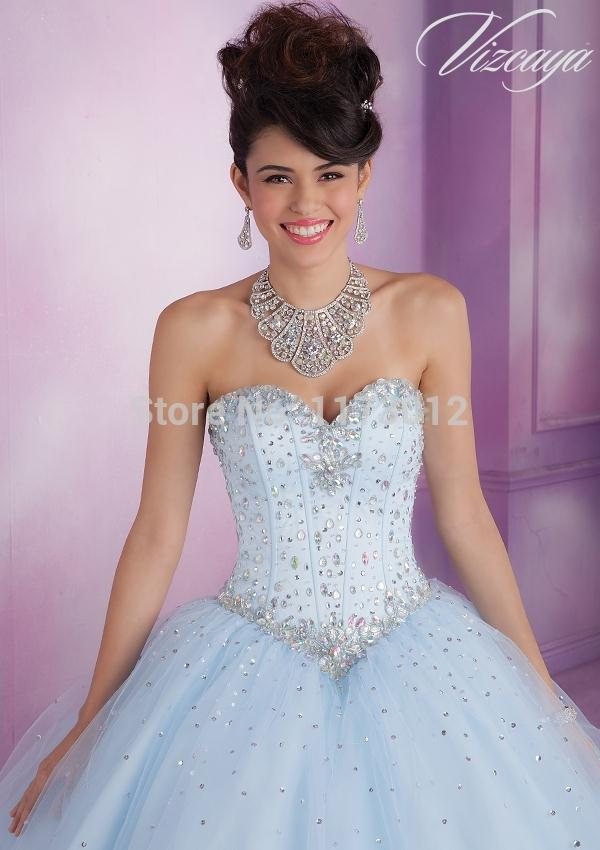 5ef72771f1 Ball Gown Pink Quinceanera Dresses With Jacket vestidos de 15 anos Sweetheart  Shiny Beading Beautiful Mint Blue Sweet 16 Dresses-in Quinceanera Dresses  from ...