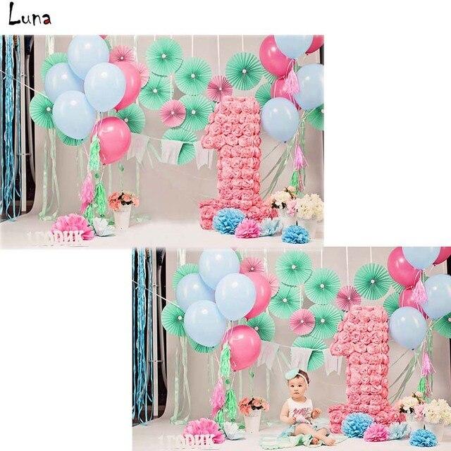 mehofoto rosa palloncino vinile fotografia sfondo per il
