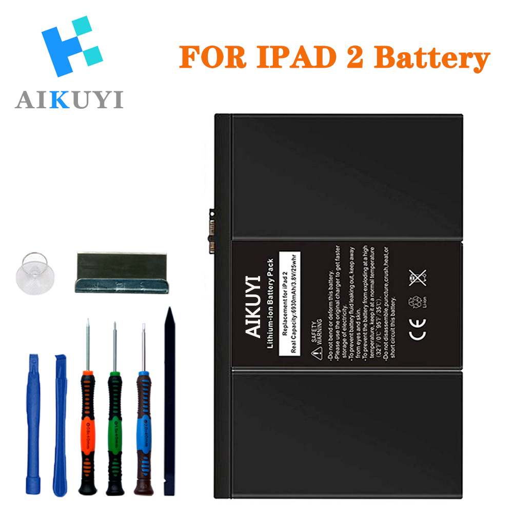 Battery Replacement Kit For IPad 2 2nd Generation A1395,A1396,A1397 With Full Repair Tools Set