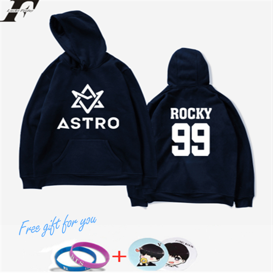 2018 Kpop LUCKYFRIDAYF ASTRO Hoodies Moletom STAR Group Spring Ladies/Males Harajuku Sweatshirt Informal Hoodie Males/Ladies Clothes Hoodies & Sweatshirts, Low cost Hoodies & Sweatshirts, 2018 Kpop LUCKYFRIDAYF ASTRO Hoodies...