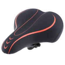 Soft Breathable Design Thicken Wide Mountain Bicycle Saddle Big Butt Bike Seat Pad Accessories