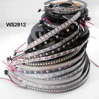 Smart led pixel strip;WS2812B;1m/3m/5m 30/60/74/96/100/144 pixels/leds/m;WS2812 IC;WS2812B/M,IP30/IP65/IP67,Black/White PCB,DC5V