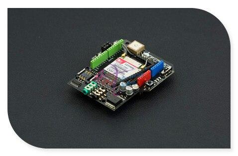 DFRobot GPS/GPRS/GSM Shield/Module V3.0, 6~12V Sim908 chip Quad-band GSM/GPRS engine + GPS navigation Compatible with Arduino