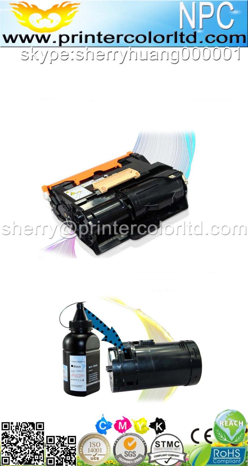 1KG Bag toner powder refill For Xerox Phaser 3610/3610DN/3610N/WorkCentre  WC 3615/3615DN/106R02721 106R02722 106R02723 106R02724