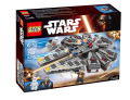2016 New LEPIN Building Blocks Star Wars The Force Awakens Millennium Falcon Model Kits Assemble Toys Compatible legoINGlys