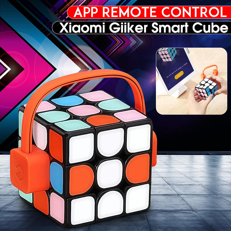 Xiaomi mijia Giiker Супер smart cube приложение remote comntrol Интеллектуальный Магический кубик паззлы красочные развивающие игрушечные лошадки Рождественс...