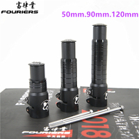 Fouriers HA S007 Bicycle Bike Stem 28.6mm fork Extender Adapter Riser 50mm 90mm 120mm For 1 1/8 Stem Heightening device