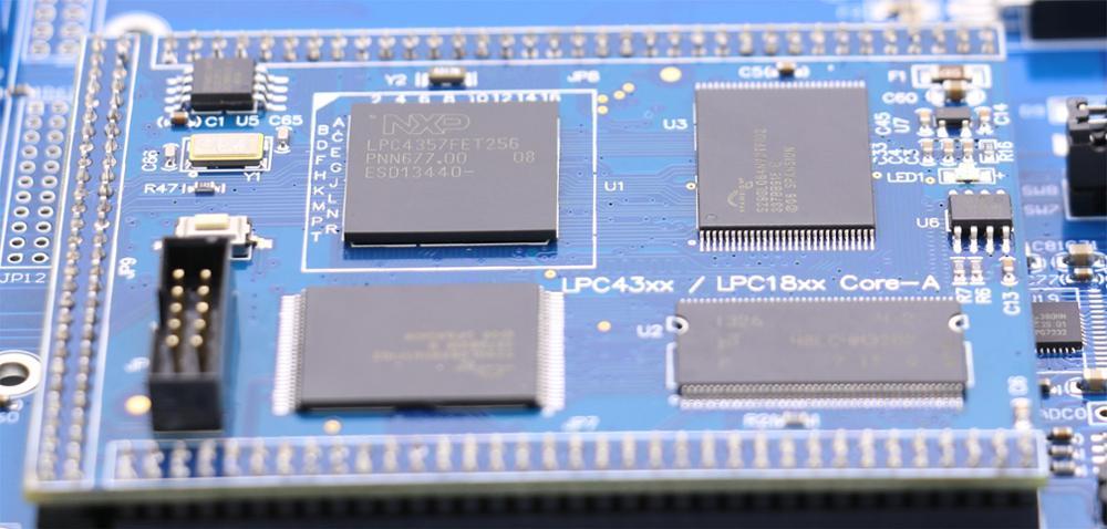 Ying Yu LPC4357 development board 7 Inch Touch Screen high-speed USB  network 204MHz M4 M0 dual core processor GPS