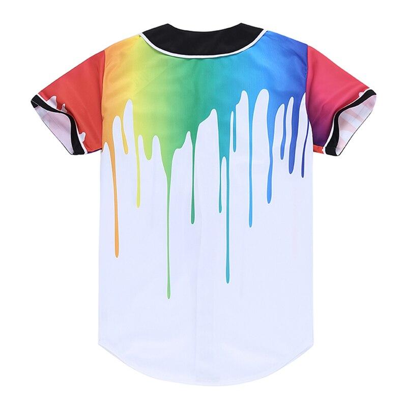 Hombres 3D cardigan camisa pintura camiseta hombres personalidad hip hop  estilo streetwear manga corta Camisetas poleras hombre en Camisetas de La  ropa de ... be7a9c2a659