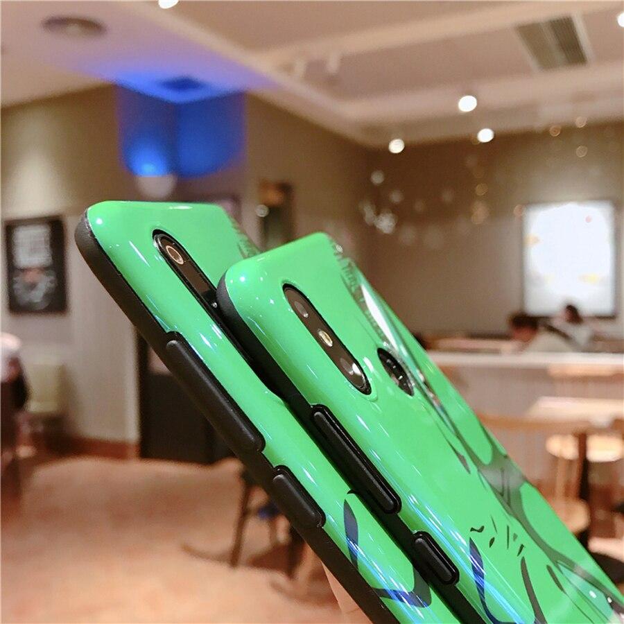 Blue ray tpu étui de téléphone pour xiaomi mi 8 9 se A2 redmi note7 mode 3d dessin animé peint doux couverture arrière pour xiaomi mi 9 cas - 4