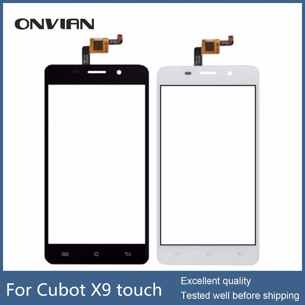 CUBOT X9 Touch Screen Assembly without LCD Digitizer Glass Panel Replacement For CUBOT X9 Phone
