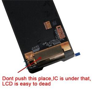 "Image 3 - 6.0 ""מקורי Supor AMOLED M & סן עבור ASUS ROG טלפון ZS600KL LCD תצוגת מסך + מגע פנל Digitizer עבור Asus ZS600KL מסגרת"
