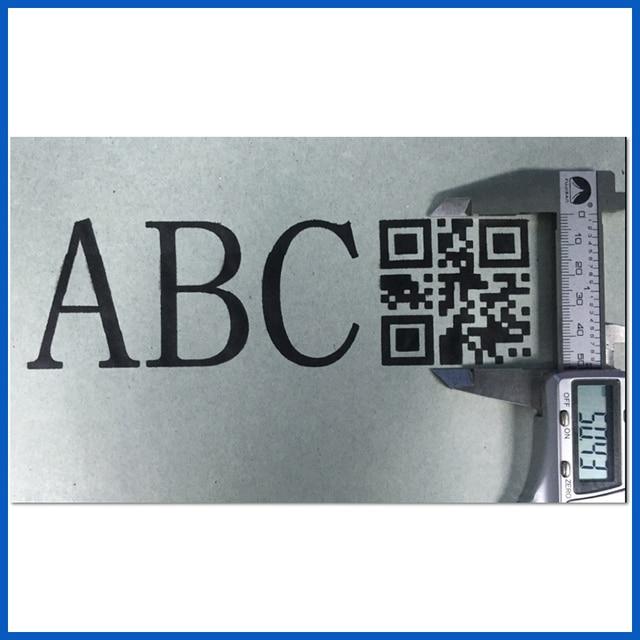 הפעלה קלה אוטומטי נייד כף יד מיני גבוהה רזולוציה קידוד דיו מדפסת עבור קרטון ותווית הדפסת (ECH200)