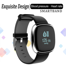 P2 Bluetooth Sensible Band Coronary heart Fee Monitor Blood Strain Health Tracker Wristband Passometer Bracelet Watch For iOS Android