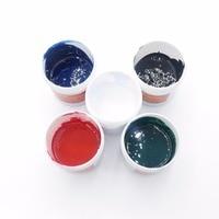 5PCS Lot Free Shipping PCB UV Photosensitive Inks Green PCB UV Curable Solder Resist Ink Solder