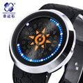 Bebê Digital relógios Xingyunshi famosos relógios Digitais relógio de couro projeto top quality mulheres militares relógio masculino de luxo