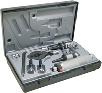 Professional Medical Diagnositc ENT Kit Direct Ear Care Otoscope And Ophthalmoscope Diagnosis Set Free Shipping