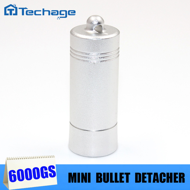 Mini Strong Bullet  Detacher  magnetic detacher EAS Tag Remover for stoplocks tag 6000gs