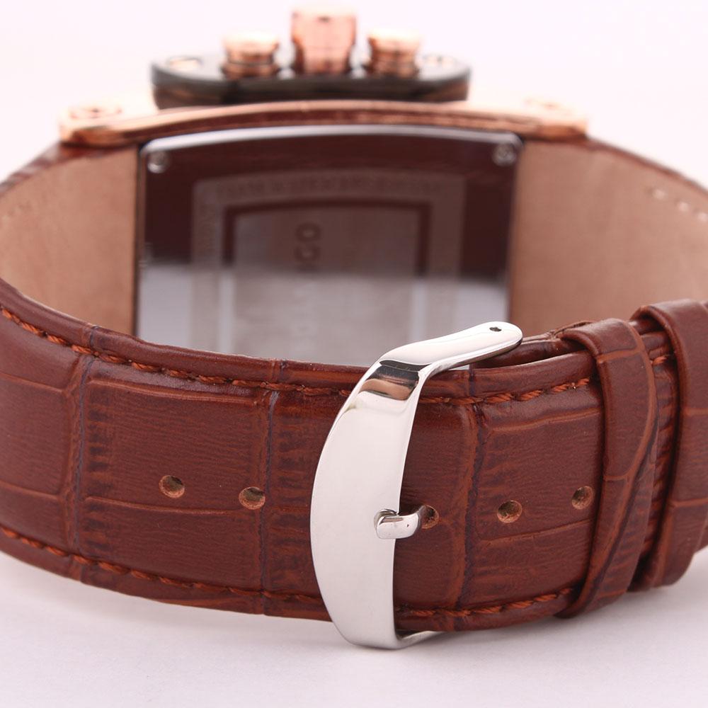 Image 5 - BOAMIGO men quartz watches brow leather strap auto date clock male fashion casual analog big man wristwatches relogio masculino-in Quartz Watches from Watches