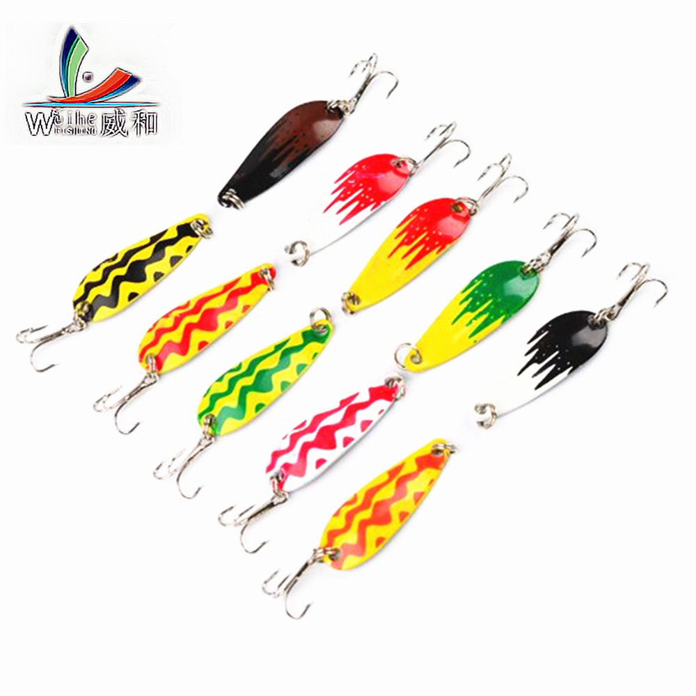 1Pcs Promotion of The Fish Shop Bait Spin Bait 360 Degree Rotation Fishing Chinese Hard Bait Sequins Carp Fishing Accessories