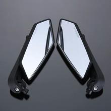 Novo 8mm & 10mm universal espelhos da motocicleta espelho retrovisor koso scooter espelho traseiro