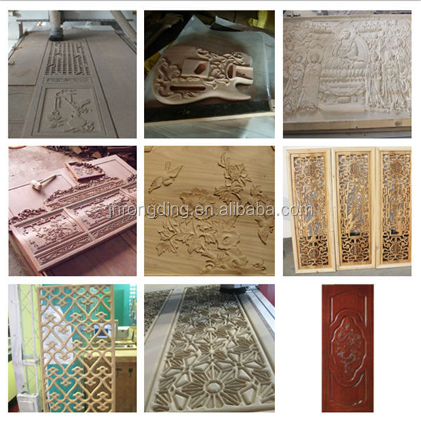 Con mesa de vacío 1325 enrutador cnc para trabajar la madera, - Maquinaría para carpintería - foto 5