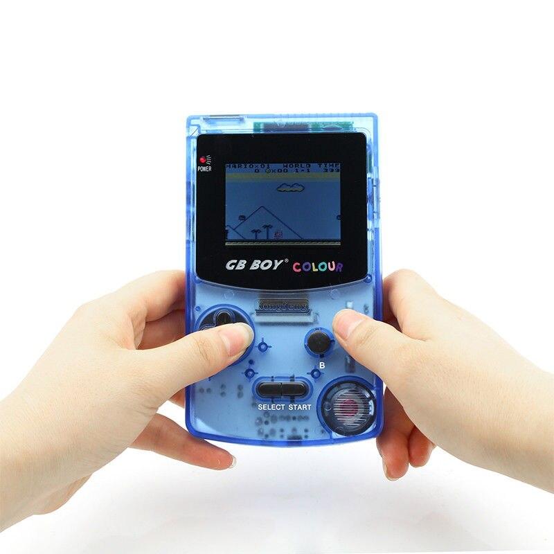 GB Garçon Couleur Couleur De Poche Game Player 2.7 Portable Classique Jeu Console Consoles Avec Rétro-Éclairé 66 Jeux Intégrés