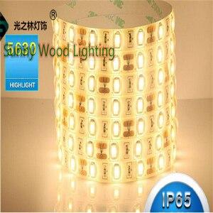 Image 4 - 5 m/roll LED şerit SMD 5630 LED softstrip 24 V DC IP20, IP65, IP67 sıcak beyaz, soğuk beyaz 18 W/M ultra yüksek parlaklık led bant