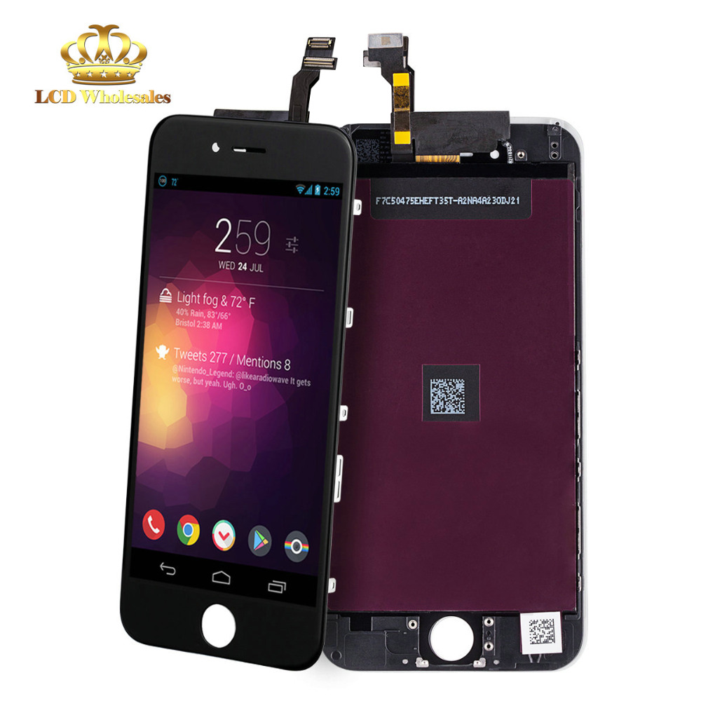 superior quality 0f3ec 18509 US $339.99 |mobile phone prices in dubai Free Temper Glass+LCD Display  +Touch Screen Assembly for iPhone 6 replacement screen with digitizer-in  Mobile ...