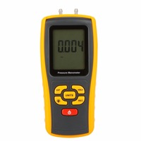 GM511 Digital Benetech 50KPa LCD display Pressure manometer yellow differential manometer pressure gauge