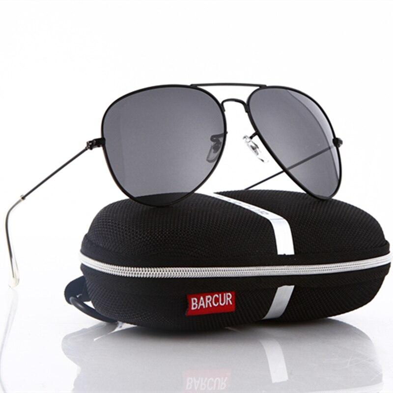 eca2763e06d06e BARCUR Marque HD Conduite lunettes de Soleil Hommes Femmes Coloré  Réfléchissant Revêtement Lentille BARCUR lunettes de Soleil 3026 lunettes  de Soleil De ...