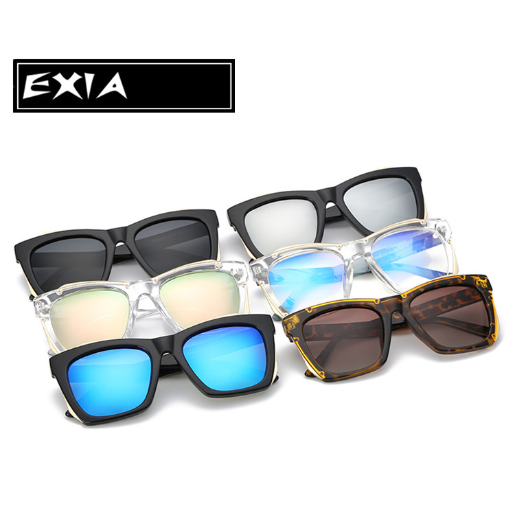 3108b44863d7 Plano Lenses Clear AR Coated Anti Reflective and Blue Cut Sunglasses Frame  Big for Women EXIA OPTICAL KD 0803 Series on Aliexpress.com | Alibaba Group