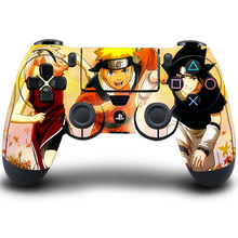 Stickers PS4 Controller Skin Super NARUTO Uchiha Sasuke Sticker For Sony PlayStation4 Wireless Controller Skin PS4