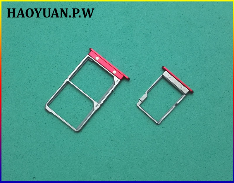 HAOYUAN.P,W 100% Original SIM Card Tray Adapter Holder Replacement  TF SD Card Slot Holder For Lenovo VIBE SHOT Z90 Z90-7 Z90-3