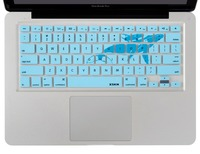 XSKN Animal Series Art Keyboard Skin Lovely Whale Design Ultrathin Silicone Keyboard Cover For Macbook Pro