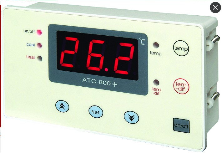 Atc-800+ dual temperature thermostat + digital auto.