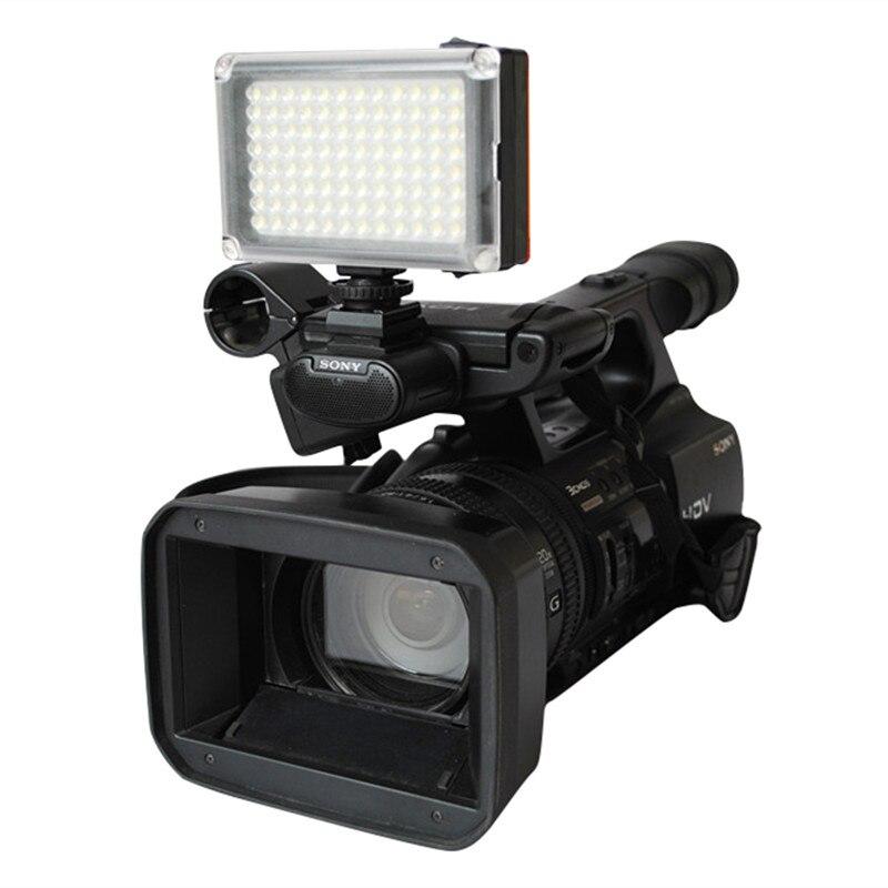 96 LED Video Light on Camera Photo Lighting Bulbs Hotshoe