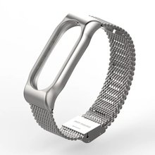 Mijobs Metal Strap For Xiaomi Screwless Stainless Steel Bracelet
