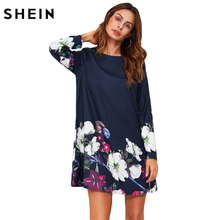 Women flower print dress