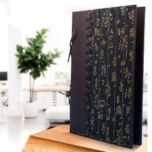 8 листов 16 просмотров китайская еда искусственная кожаная папка меню
