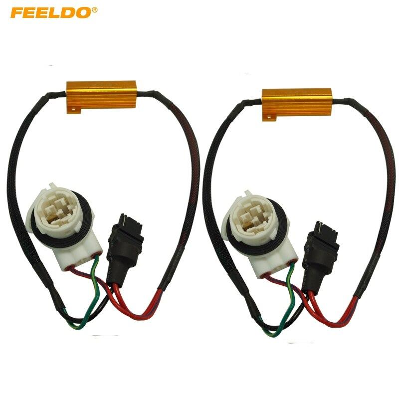 2Pcs 3156B No Error Load Resistor No Flickering Decoder for LED Light #AM5343